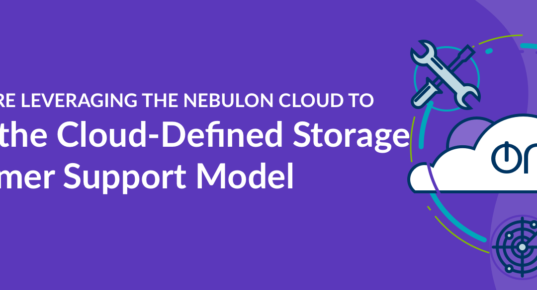 How We're Leveraging the Nebulon Cloud to Drive the smartInfrastructure Customer Support Model