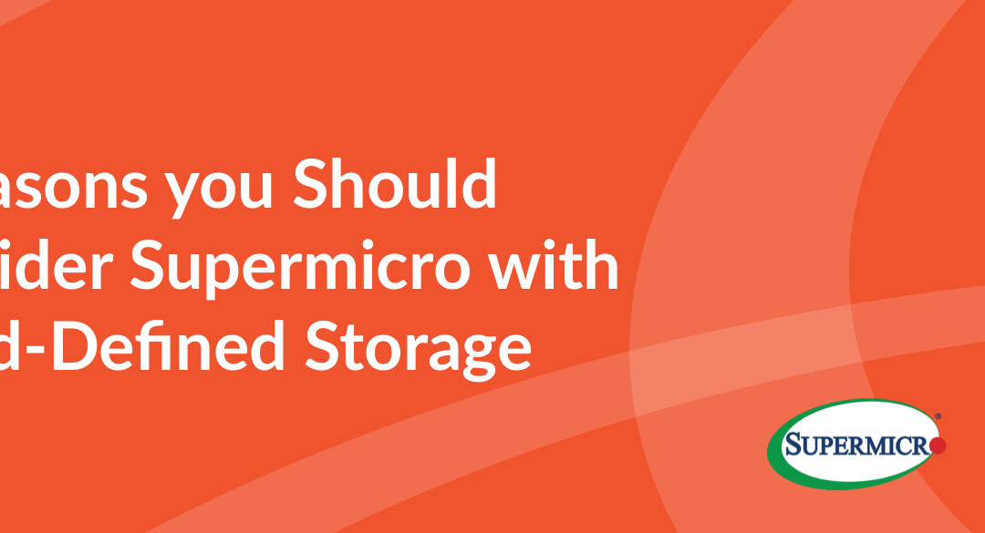 7 Reasons you Should Consider Supermicro with smartInfrastructure