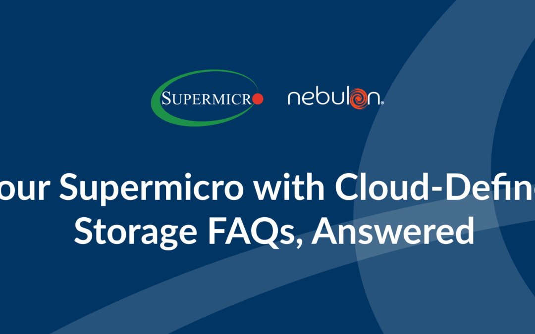 Your Supermicro with smartInfrastructure FAQs, Answered