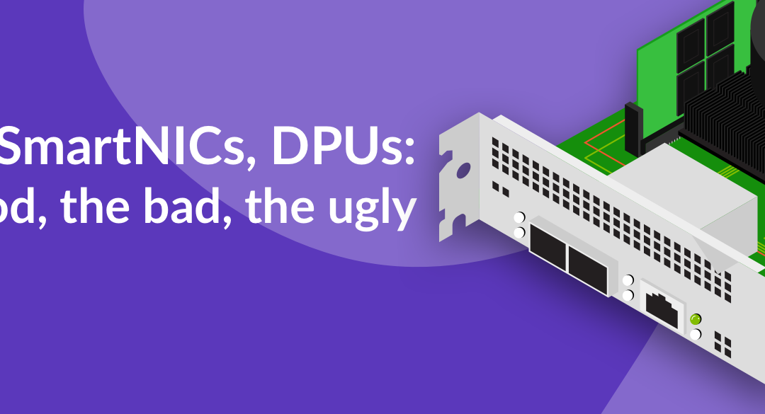 SPUs, SmartNICs, DPUs: The Good, The Bad, The Ugly