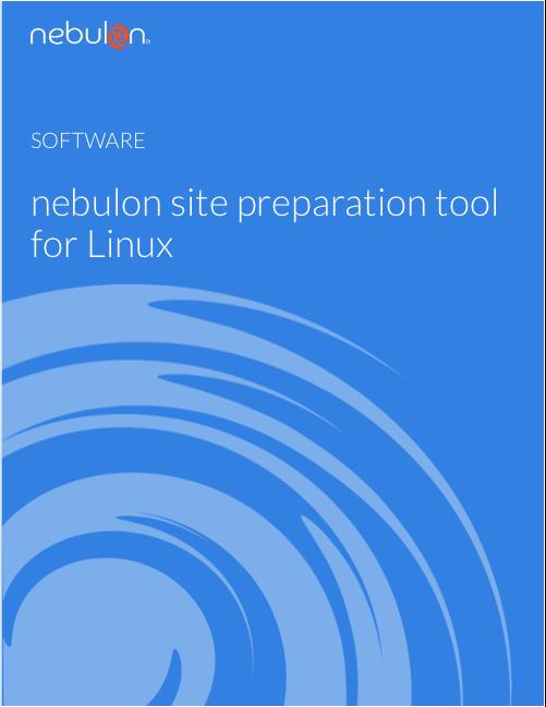 Nebulon Site Preparation Tool for Linux